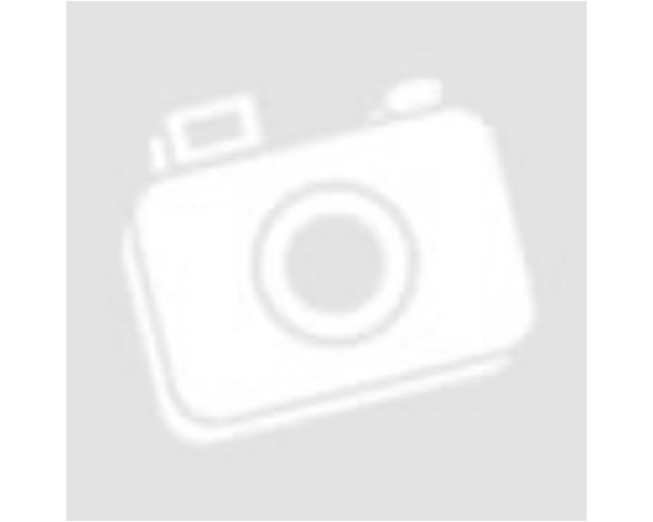 Hosseven füstcső, zománcozott lemez, 130 x 500 mm, barna